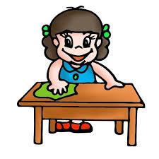 clean student desk clipart. Wonderful Clean Clean To Student Desk Clipart