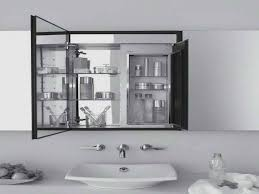 Full Size of Bathrooms Cabinets:3 Panel Medicine Cabinet Mirror Glass Medicine  Cabinet Round Mirror Large ...