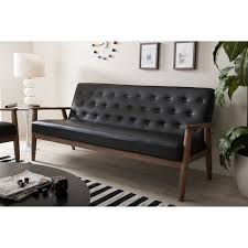 black leather tufted sofa. Full Size Of Sofa:black Leather Tufted Sofa Metal Legs Article Chester Modern Tuffed Sofablack Black P
