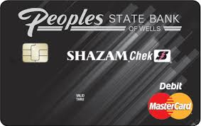 peoples state bank shazam debit card