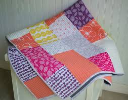 Big Block Quilt Patterns For Beginners Simple New Free Fat Quarter Fizz Quilt Pattern From Fat Quarter Shop