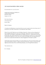 Sample Professional Reference Letter For Employment The Letter