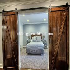 framed z double barn door with sliding barn door ings used for hotel bedroom