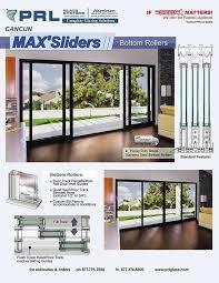 high quality aluminum sliding door