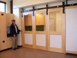Overlapping Sliding Barn Doors Modern Barn Door Hardware Amazoncom Tms Modern Stainless Steel