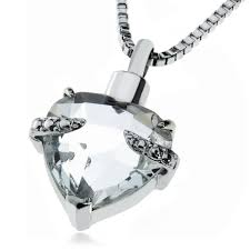 Image result for heart ashes necklaces