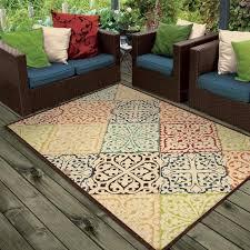 round outdoor patio rugs carpet indoor