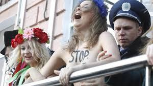Ukrainian woman is gravely