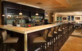 Design Ideas, Inspiring Long Bar Design With Elegant Decoration And Bright  Lighting: Cool Bar