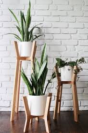 contemporary wooden stands .