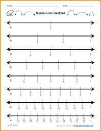 Kids : Ordering Fractions Number Line Easy Denominators Math ...
