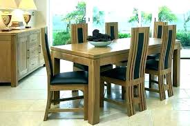 dining table and chair 6 chairs sets modern room set of