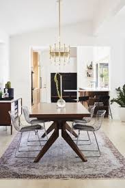 photo 14 of 15 in midcentury mashup a 1950s ranch house in chicago erfly roofmodern dining roomscontemporary dining room sets