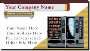 Vending Machine Name Ideas Beauteous Charming Vending Business Cards Gallery Business Card Ideas Vending