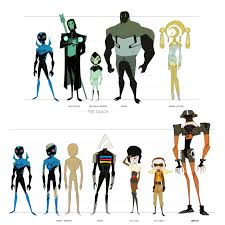 Animated Dream Catcher Blue Beetle Animated Villain Sheet Two by douhong on DeviantArt 98