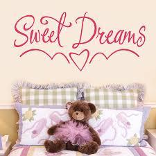 Kids Bedroom Wall Sweet Dreams Kids Bedroom Wall Sticker By Making Statements