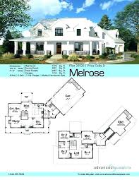 one story farmhouse modern plans floor plan country simple small with basement level
