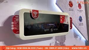 TDM.VN | Review máy nước nóng Ariston SL2 Slim2 Lux Wifi 30L - 30 lít gián  tiếp - YouTube