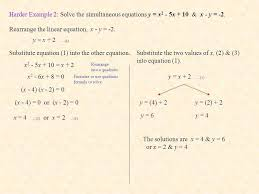 rearrange the linear equation x y 2