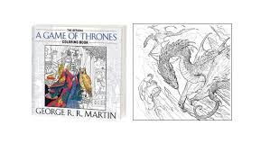 New Game Of Thrones Coloring Page