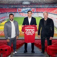 Leon Goretzka extends Bayern contract until 2026