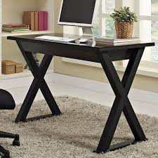 constructed of thick tempered safety glass and steel frame create a sy stylish work black glass computer deskcomputer