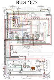 wiring diagram in color 1964 vw bug, beetle, convertible the 72 Vw Beetle Wiring Diagram vw bug 1972 wiring diagram jpg (5070×7475) 1972 vw beetle wiring diagram