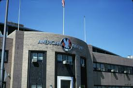 airports new york lga american airlines hanger old signs wja