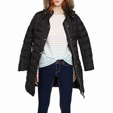 Joules Black Quilted Jacket - Joules Caldecott Padded Coat,Black ... & Joules Caldecott Padded Coat Black Polyester Quilted Jacket Adamdwight.com