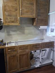 Pallet Wood Backsplash Diy Kitchen Making New Cabinets From Pallet Wood Dawn Kinney