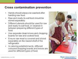 Cross Contamination Cleaning Cooking Chilling And Cross Contamination Ppt Video