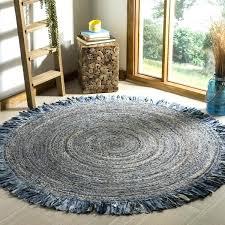 round jute rug 5 hand woven cape cod ivory denim jute rug soft jute rug 5x8