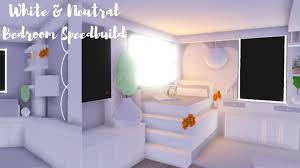White Neutral Teen Bedroom Roblox Adopt Me Youtube