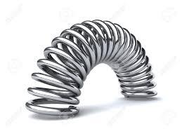 metal spring. metal spring s