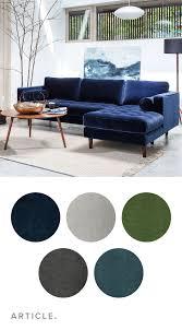 Sven Cascadia Blue Right Sectional Sofa Zaandam Stoelen