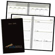Academic Monthly Weekly Planner Calendar