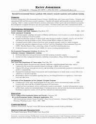 Biology Resume Examples Best of 24 Awesome Biology Resume Examples Sierra