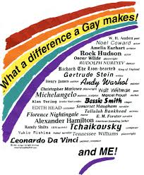 Great men in gay history