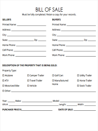 Equine Bill Of Sales 5 Horse Bill Of Sale Forms Free Sample Example Format Download