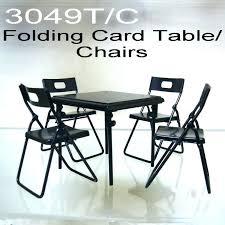 5 piece card table set dollhouse folding buy . Piece Card Table Set Folding Chair Smart