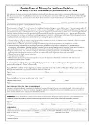 Health Care Power Of Attorney Form Health Care Power Of Attorney Form 24 Free Templates In PDF Word 19