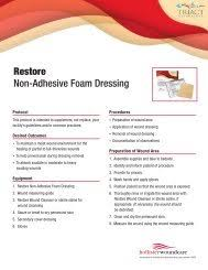 Dressing Selection Guide Hollister Wound Care