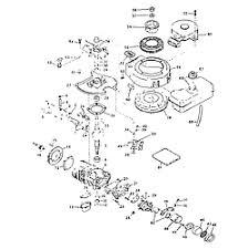 tecumseh tecumseh 2 cycle engine parts model type67008c sears basic engine