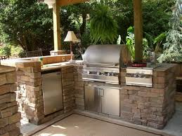 Outdoor Kitchen Roof Kitchen Design 20 Design Rustic Outdoor Kitchen Home Ideas