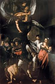 caravaggio the seven acts of mercy 1606 07 oil on canvas