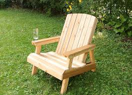 wood outdoor chairs plans