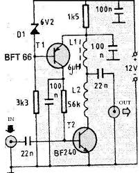 vhf antenna amplifier circuit electronic project design vhf antenna booster circuit diagram at Vhf Antenna Wiring Diagram