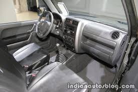 Suzuki Jimny dashboard at IAA 2017 - Indian Autos blog