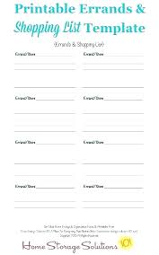 Thanksgiving Grocery List Template Grocery List Template Free Printable Grocery List Template 7