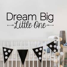 dream big little one wall decal zoom